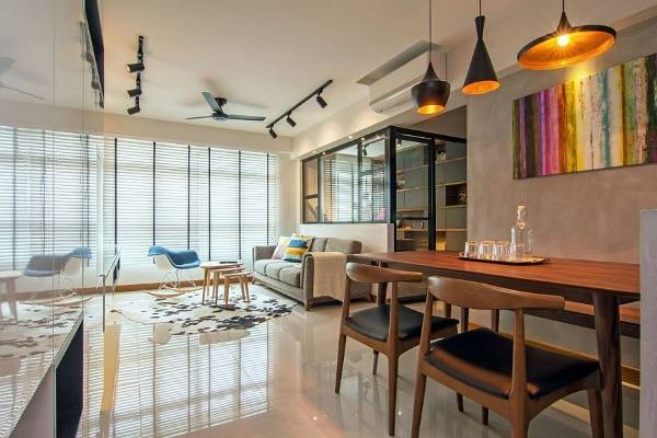 Люстра и светильники на кухню в стиле лофт: идеальные варианты установки освещения