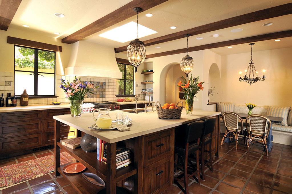 Кухня в испанском стиле: дизайн + фото