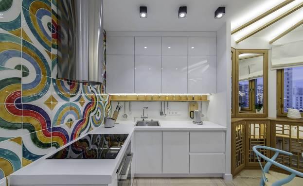Стиль фьюжн в интерьере кухни – яркий дизайн для неординарных личностей